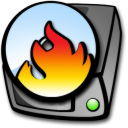 harddrive cdrom burner icon