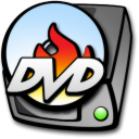 Harddrive dvd burner icon