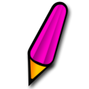Pen pink icon