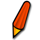 pen red icon