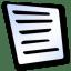 Doc text icon