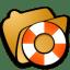 Folder help icon