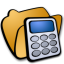 Folder math icon