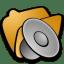 Folder sound icon