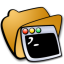 folder terminals icon