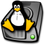 Harddrive linux icon