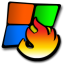 windows burning icon