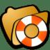 Folder-help icon