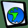 Doc-globe icon