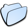 Folder-lightblue icon