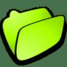 Folder-lime icon