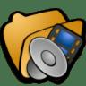 Folder-multimedia-2 icon