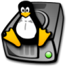 Harddrive-linux icon