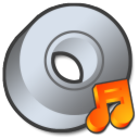 Cdrom audio or itunes icon
