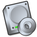 Harddrive cdrom icon