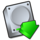 harddrive downloads icon