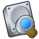 harddrive search tool icon