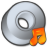 Cdrom-audio-or-itunes icon