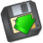 Save-to-floppy-or-save-as icon