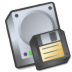 Harddrive-floppy icon