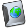 Document-globe icon