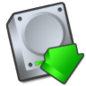 Harddrive-downloads icon