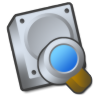 Harddrive-search-tool icon
