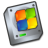 Harddrive-windows icon