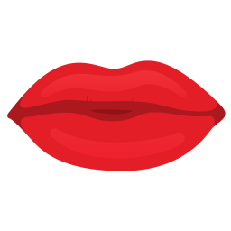 Mouth lips icon