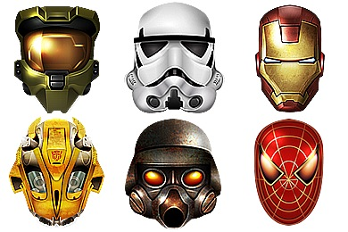 Cool Heroes Icons