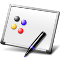 flip chart icon