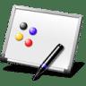 Flip-chart icon