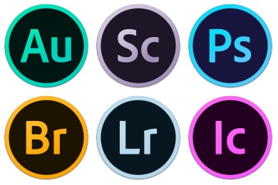 Adobe CC Circles Icons