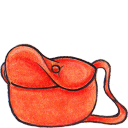 Kiki bag open icon
