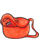 Kiki bag radio icon