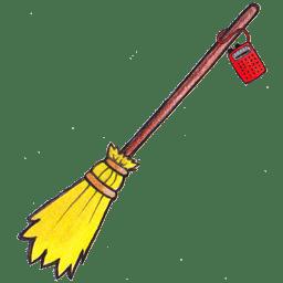 Kiki broom radio icon