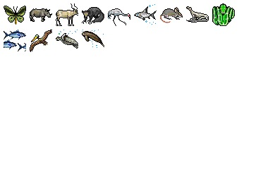 Endangered Species Icons