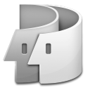 Finder Milky icon