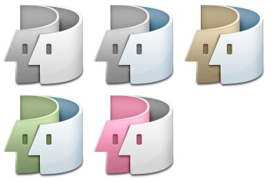 Swirl Finder Icons