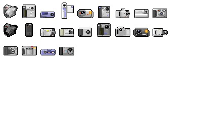 Digi Cam 02 Icons