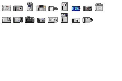 Digi Cam 03 Icons