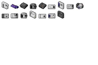 Digi Cam 04 Icons