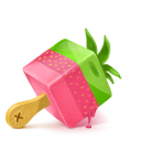 Box 19 Ice Cream Strawberry icon
