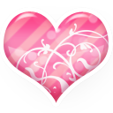 heart pink icon