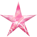 star pink icon