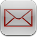 Mail-red-glow icon
