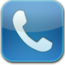 Phone-blue-glow icon