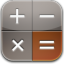 calculator glow icon