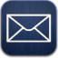 Mail blue icon