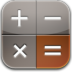 Calculator-glow icon